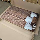 6-077 Стіл розкладний зі скла і 6 стільців, фото 2