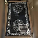 6-032 Стіл розкладний зі скла і 6 стільців, фото 4