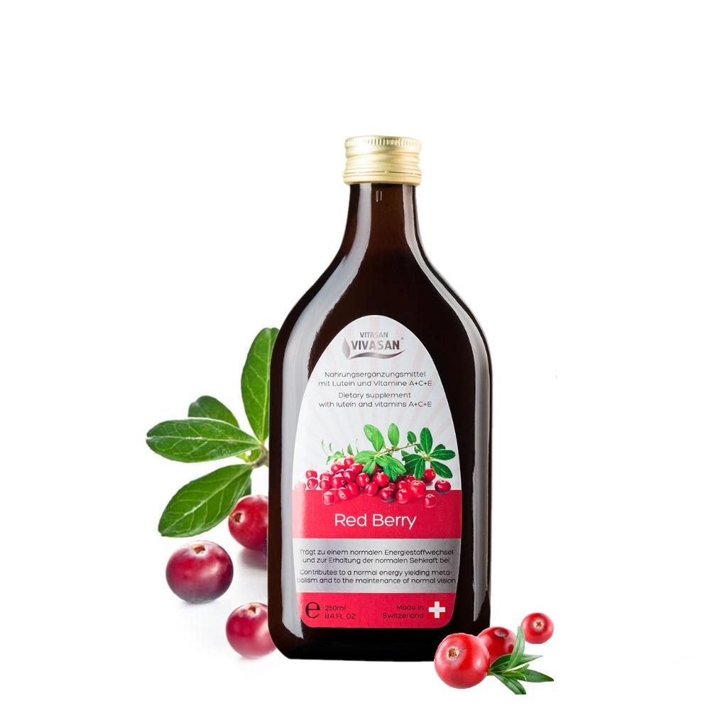 Сироп  Красная  Ягода, з лютеином и витаминами Швейцария