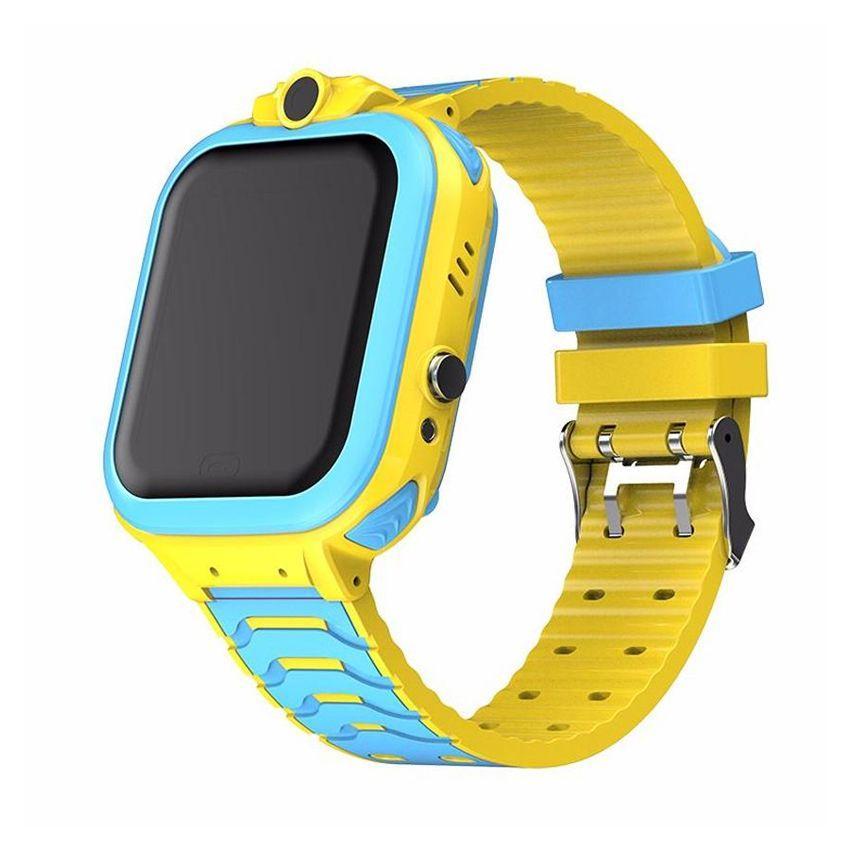 Детские умные часы (смарт часы с GPS + родительский контроль + фонарь)  Smart Baby T16, (Желтый)