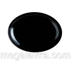 Блюдо LUMINARC FRIENDS TIME BLACK овал 33 см (M0065)