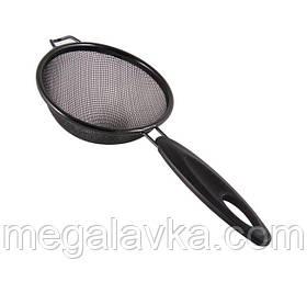 Сито металл/пластик NO-STICK 22см METALTEX (112822)