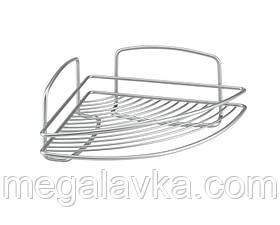 Полку METALTEX Onda кутова 22х22х11 см сірий металік 460201