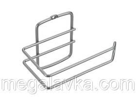 Тримач METALTEX Onda для туалетного паперу сірий металік 460411