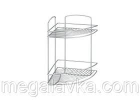 Полку METALTEX Onda для ванної сірий металік 460232