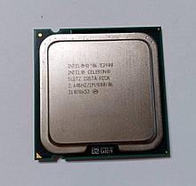 Intel Celeron Dual-Core E3400 2600 MHz SLGTZ Socket 775 (LGA775) 2 ядра 64 бита Процессор для ПК