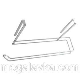 Тримач Metaltex Easy-Roll кухонних паперових рушників сірий металік 364935