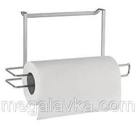 Тримач Metaltex Galileo для паперових рушників сірий металік 350606