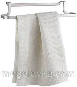 Тримач Metaltex для рушників 30х8х5 см сірий металік 350604