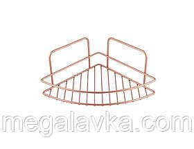 Полиця кутова REFLEX COPPER METALTEX мідний колір 403510