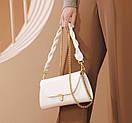 Модная женская сумочка с плетеной ручкой на плечо Bizz, фото 7