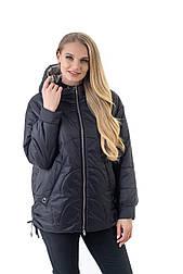 Модная чёрная куртка оверсайз Liardi