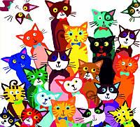 Набор акриловая живопись по номерам 31 котенок 35х45см ROSA START