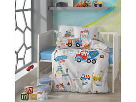Постельное белье в детскую  кроватку 100*150 Ranforce (TM Aran Clasy)  Graffe, Турция