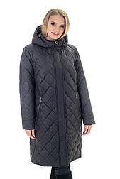 Женская чёрная куртка  Liardi