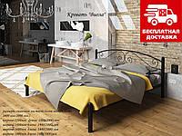 Ліжко Віола 120*190 металева, фото 1