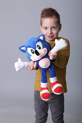 Соник мягкая игрушка Ежик Sonic 45 см из фильма Соник в Кино