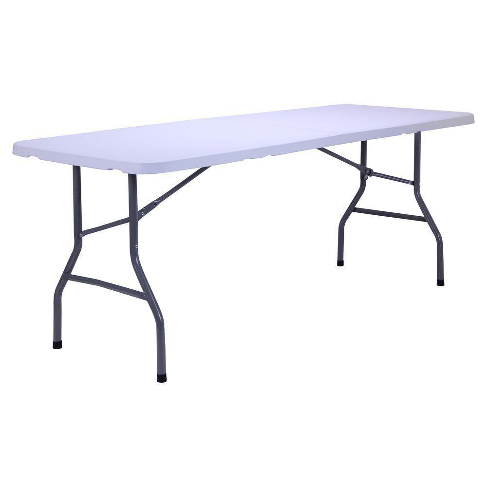 Розкладний стіл 183 см міцний пластик