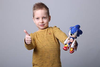 Соник мягкая игрушка Ежик Sonic 20 см из фильма Соник в Кино