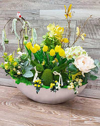 Прикраси з цвітів для кімнат