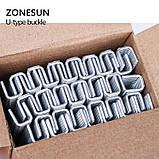 Скобы для ручного клипсатора, в упаковке 6000 шт., (размер скобы 506), фото 3