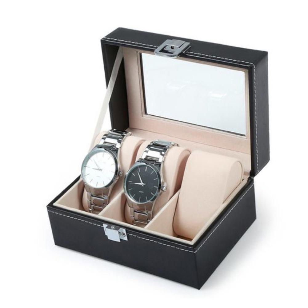 Скринька шкатулка для зберігання годин на 3 відділення