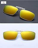 Антибликовые очки, солнцезащитны очки для водителей, очки антифары поляризационные очки для вождения, фото 2