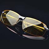 Антибликовые очки, очки для ночного вождения, автомобильные очки, фото 3