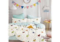 Комплект постельного белья в кроватку из сатина ТМ Вилюта 468