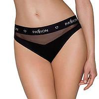 Трусики с прозрачной вставкой PS006 PANTIES black XL - Passion, фото 1