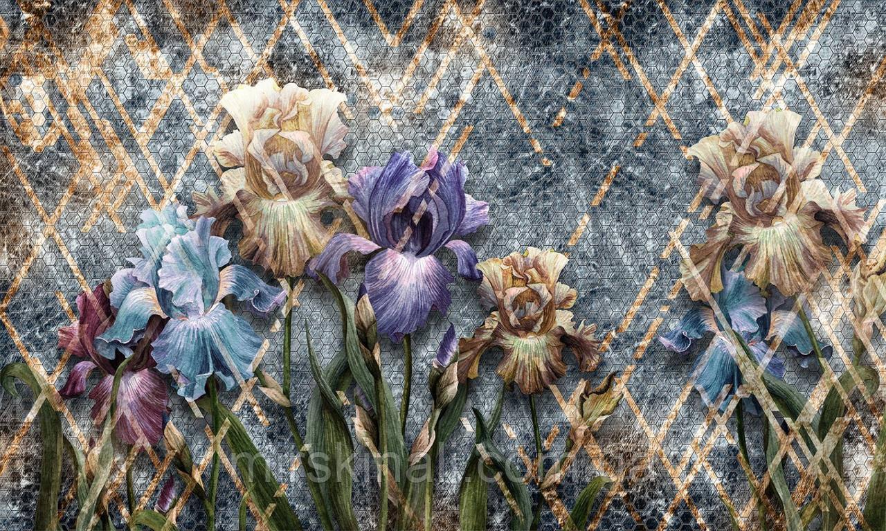 Цветы_фрески 22