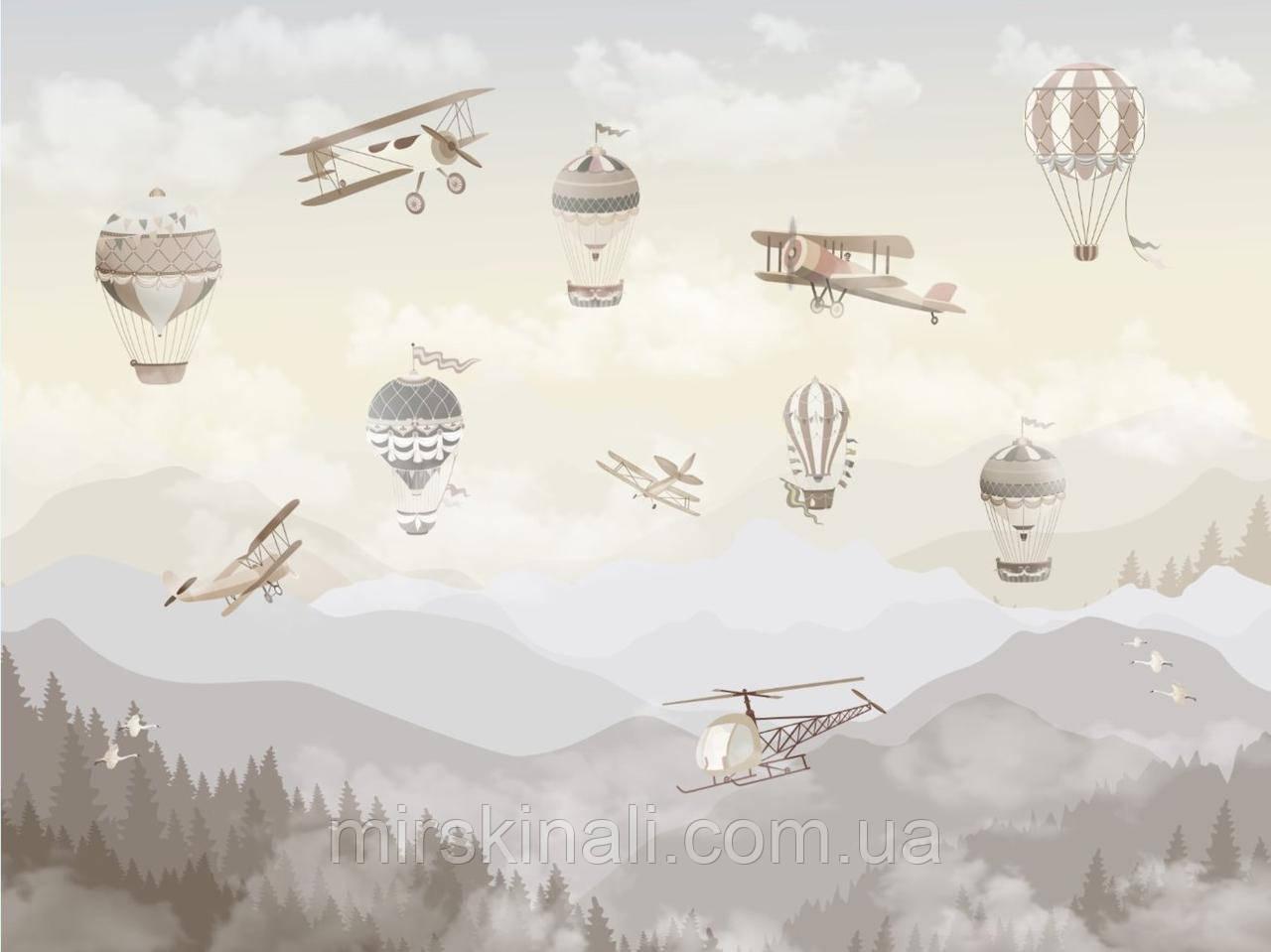 Гори літаки і повітряні кулі 1