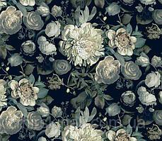 Квіти на чорному №3