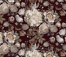 Квіти на чорному №4