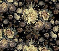 Квіти на чорному №5