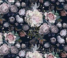 Квіти на чорному №6