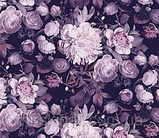 Квіти на чорному №7