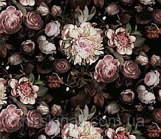 Квіти на чорному №8 оригінал