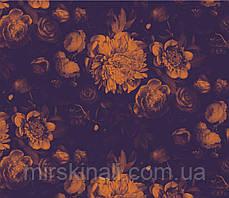Квіти на чорному №9