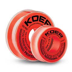 ФУМ лента для воды KOER STP-11 PRO 15M*0.2mm*19mm (KR2810)