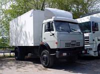 Перевозки по Черновицкой области изотермическими фургонами