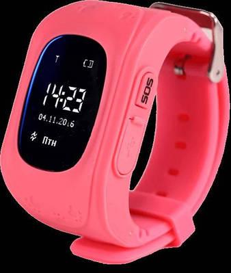 Дитячі смарт-годинник Smart Watch Q50 з GPS трекер Pink (in-112)