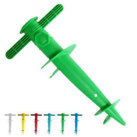 Бур для пляжного зонта пластик микс 30см, фото 2
