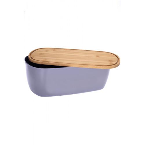 Хлібниця бамбукова з кришкою Main 35*20*14см RG-5118/s Ringel