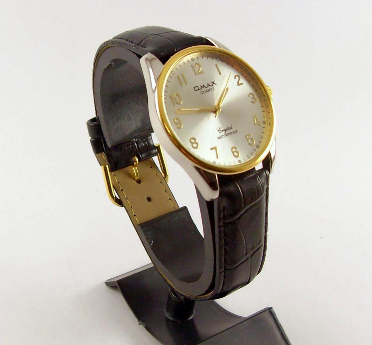48adbd5535ec Мужские часы Omax KC3243 серебро с черным водозащитные недорого ...