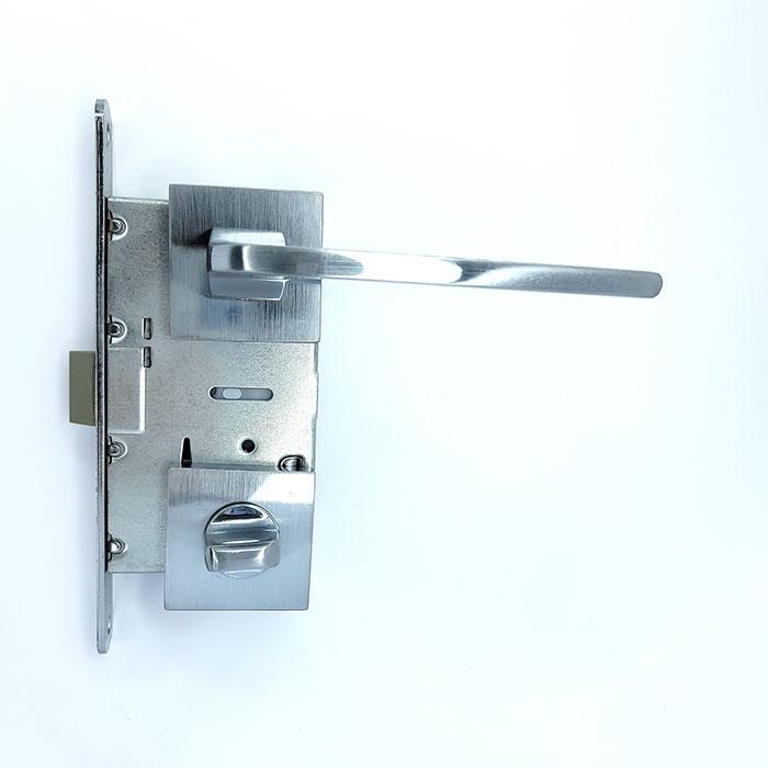 Комплект 3 Ручка на квадратной розетке алюминий TRION DOLCE 49 MCP