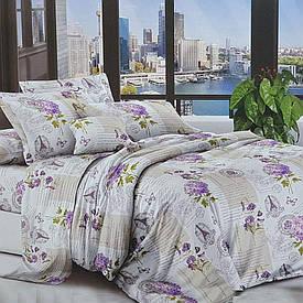 Двуспальное постельное белье  Бязь 3D Premium