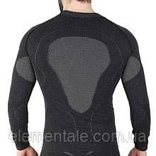 Чоловіча термокофта Hanna Style Haster Alpaca Wool 45% M-L Чорний