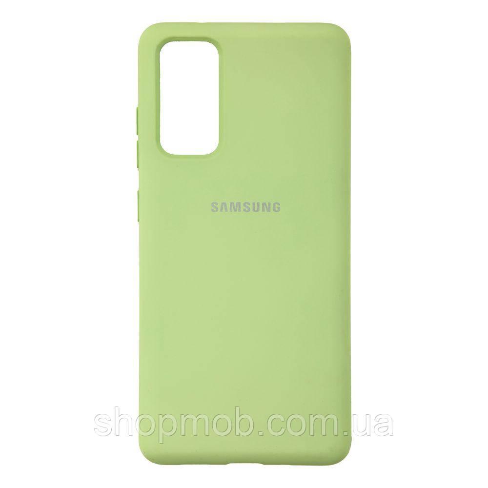 Чехол Full Case HQ for Samsung S20 FE Цвет 01.Mint