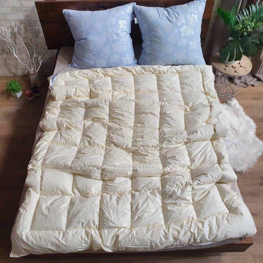 Одеяло тик Лебединый пух(искусственный пух) - 195х210